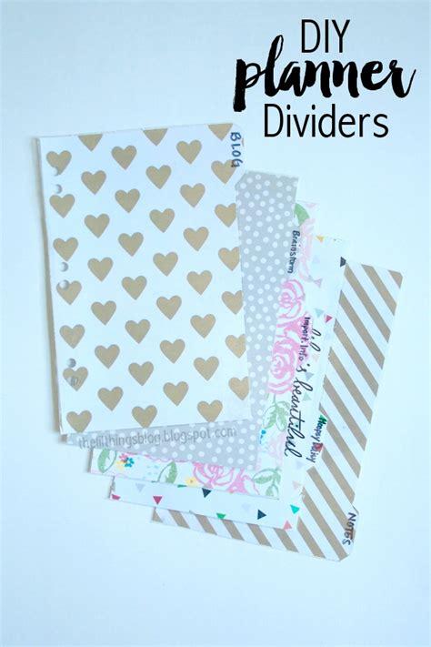 printable planner dividers diy planner dividers planner dividers planners and