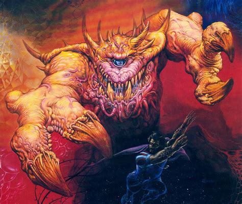 Image Gallery Jeff Easley by Astral Dreadnought Dungeons Dragons Outsider