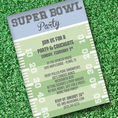 bowl invitation template bowl invitation template print