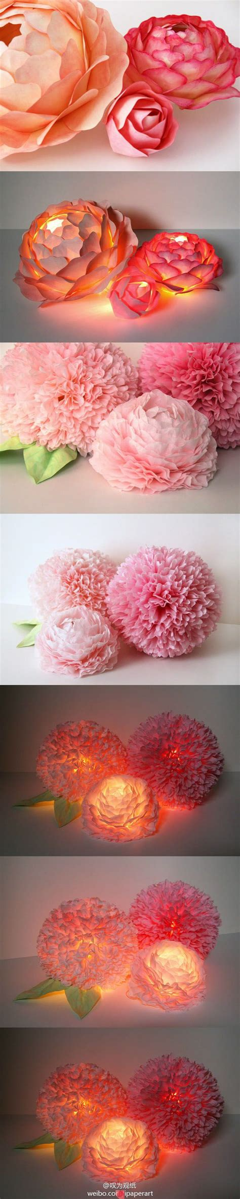 mesmerizing diy handmade paper flower projects to