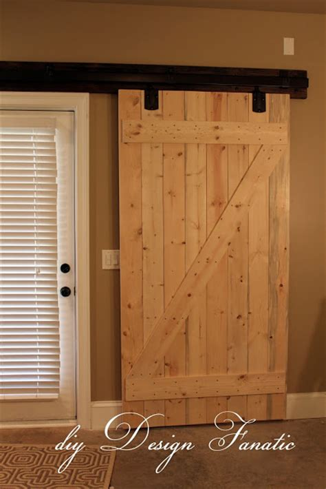 Diy Design Fanatic Diy Barn Doors How To Make Interior Sliding Barn Doors