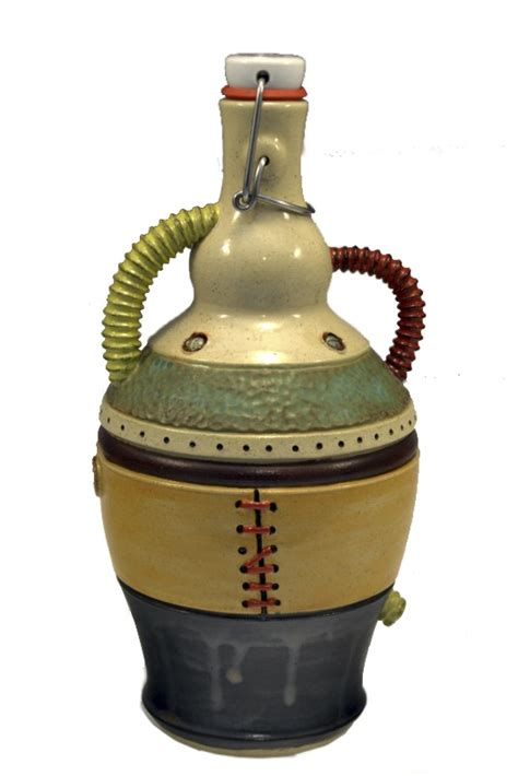 Handmade Growler - 113 best images about ceramics bottles jugs and