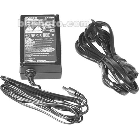 canon power charger canon ca 560 ac adapter charger 3171a007 b h photo