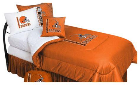 cleveland browns comforter cleveland browns bedding nfl comforter and sheet set