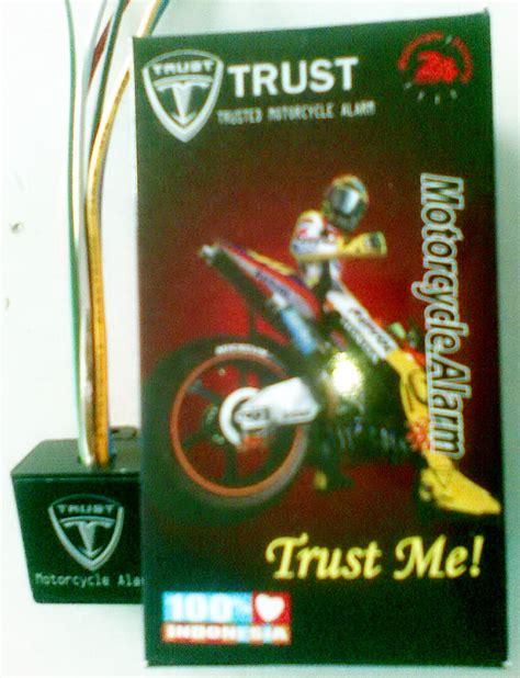 Alarm Motor Trust alarm sepeda motor trust bikin si maling pontang panting