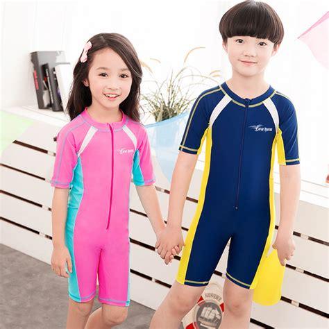 one baby swimsuit aliexpress buy child swimwear one boys