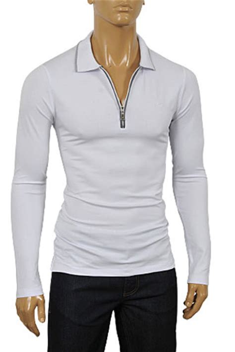 Limited Edition Crop Hoodie Zipper Polos Size S M Wanita Hots Prod mens designer clothes armani men s zip up cotton shirt in white 227