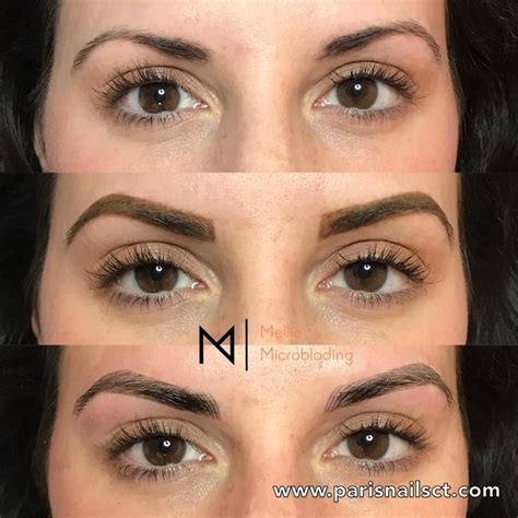 eyebrow tattoo price before and after eyebrows 3d microblading semi permanent