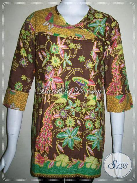 Aneka Dress 95000 butik batik butik aneka model batik wanita di bls507p toko batik 2018