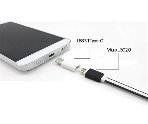 New Sale 4connect Micro To Type C Adapter Converter Black micro usb to usb type c adapter conn end 12 1 2017 4 52 pm