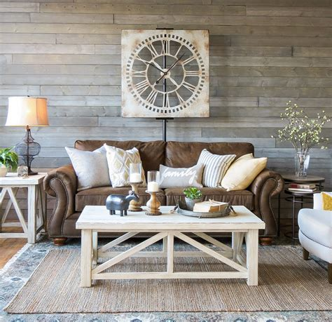 brown sofa in living room a farmhouse living room that will make you want a brown sofa schneiderman s the