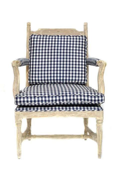 Gingham Armchair by This Gingham Chair Pink Purple And Navy