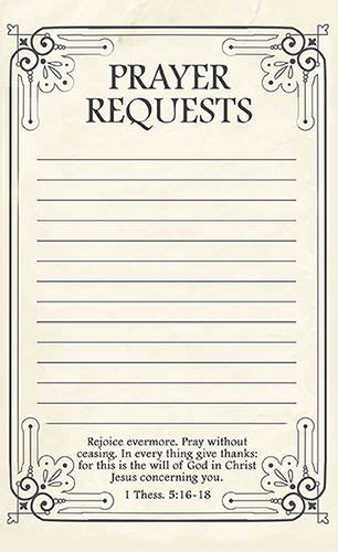 Prayer Request Cards 4x4 Template by Free Printable Prayer Request Forms You All