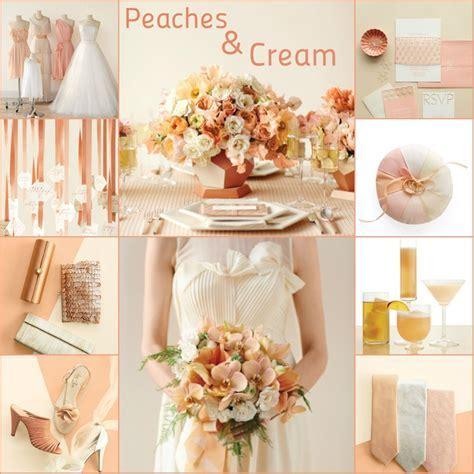 Peaches & Cream: Wedding Color Palette   wedding ideas