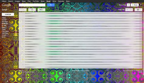 themes for gmail background custom gmail themes background colors images by steve chab