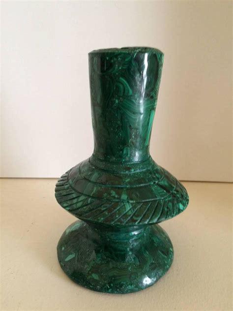 Malachite Vase by Malachite Vase For Sale At 1stdibs