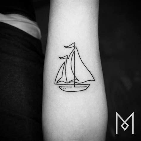 german minimalist tattoo minimalist one continuous line tattoos iranian german