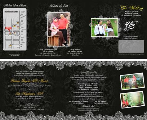 Desain Undangan Pernikahan Lipat 3 | chay my 600 lb life update newhairstylesformen2014 com