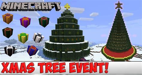 minecraft plugin tutorial christmas tree event youtube