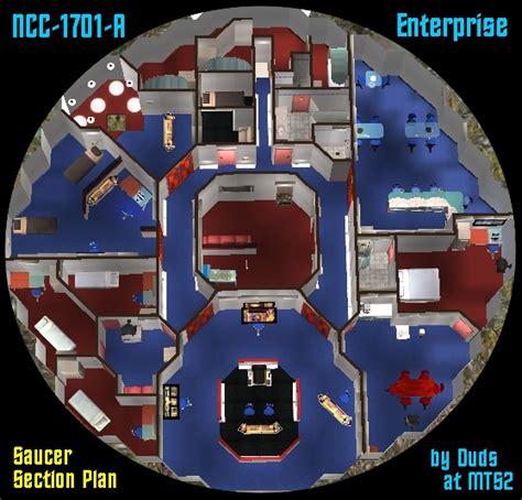 Uss Enterprise Floor Plan by Mod The Sims New Update Star Trek Ncc 1701 A Enterprise