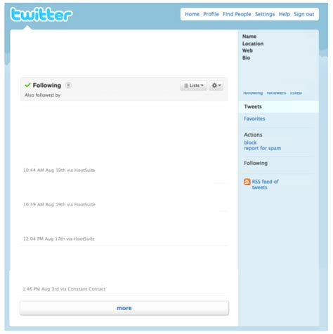 tip of the week twitter template and tweet summaries