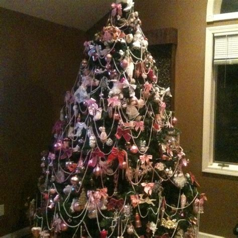 images of victorian christmas trees victorian christmas tree in pink christmas pinterest