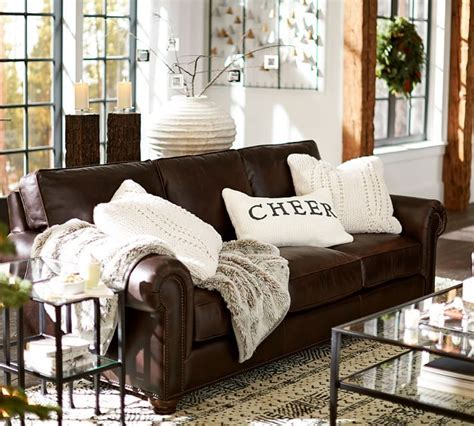 can you put a slipcover on a leather sofa 25 best ideas about brown leather sofas on pinterest