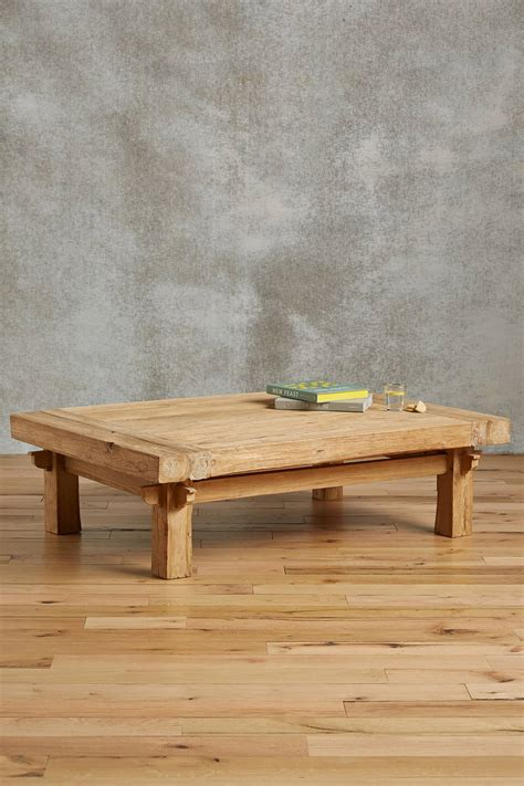 wide plank coffee table home decorating trends homedit