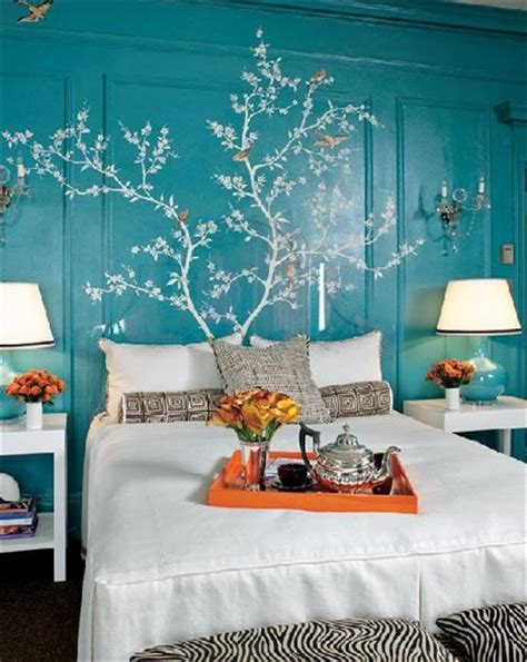 bedroom murals 12 fabulous look teal bedroom ideas freshnist