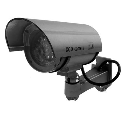 Kamera Cctv Dummy Ir Led kamera cctv dummy ir led silver jakartanotebook