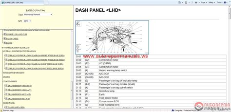 mitsubishi pajero  service manual auto repair manual forum heavy equipment forums