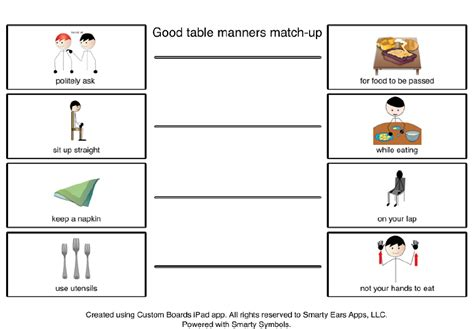 Table Manners by Table Manners Images