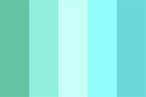 tropical colors tropical waters color palette