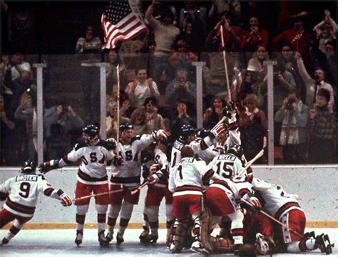 The Miracle Hockey Feb 22 1980 U S A Beats Soviet Union In Miracle On The New York Times