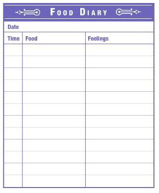 simple printable food journal dear food diary food diary weight loss and fitness