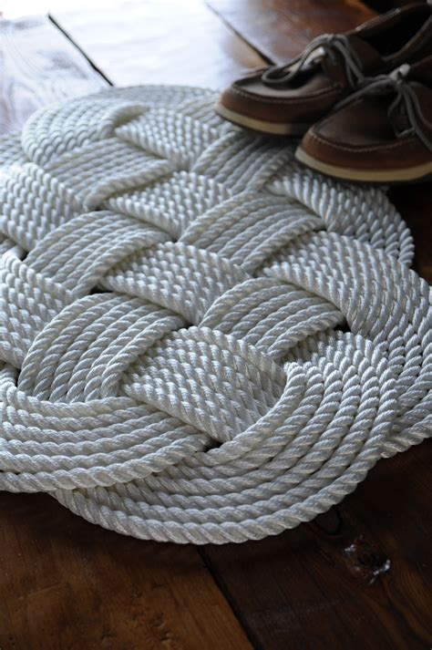 rope rugs nautical white rug nautical decor bath mat rope