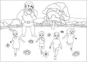 coloring pages the selfish giant 2