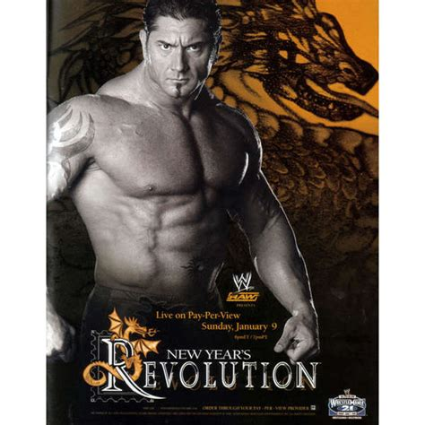 new year s revolution 2005 dvd zavvi