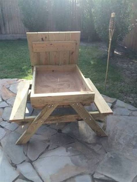 how to build a therapy table how to build a picnic table and sandbox combo diy