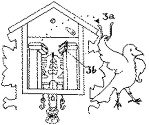 cuckoo clock parts diagram cuckoo clock owners manual