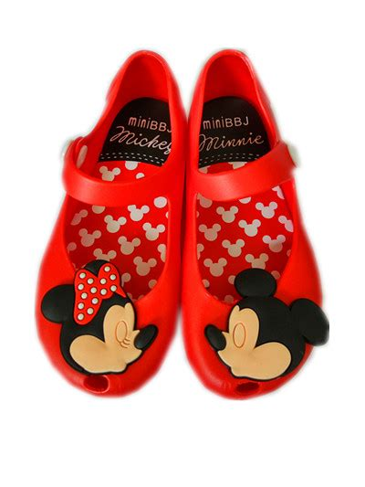 Mimi Sandal Boy Minnie Mouse Shoes Sandals Mini Jelly Sandal For Baby