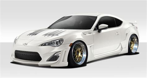 frs scion body kit 14 16 scion frs w 1 duraflex 8 pcs full body kit 109994