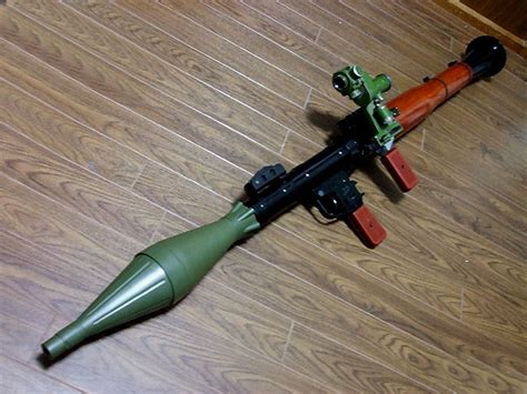 rocket themes rocket launcher rpg 7 rocket launcher resident evil 4 by enfield9346 on
