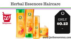 shop with coupon cvs clearance select herbal essences walgreens herbal essences haircare products only 0 12