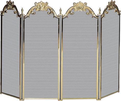 solid fireplace screens electric fireplaces from portablefireplace