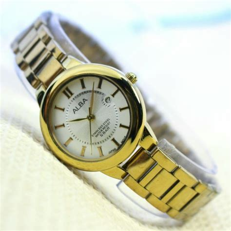 Harga Jam Tangan Kulit Merk Alba jual jam tangan alba jakarta alba al128 jam tangan wanita