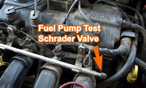 part    test  fuel pump chrysler