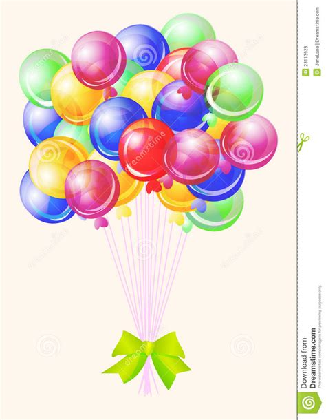 imagenes de cumpleaños con globos cumplea 241 os del partido de los globos feliz ilustraci 243 n del