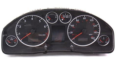 gauge instrument cluster speedometer parts    audi