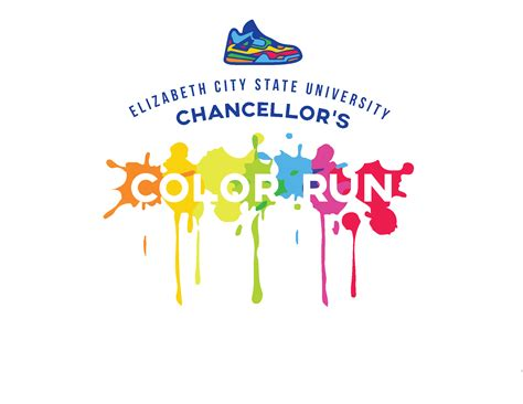 color run nc elizabeth city state chancellor s color run